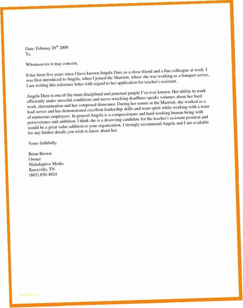 Letter Of Recommendation Residency Template Lovely Sample Re Mendation Letter for Immigration Residency