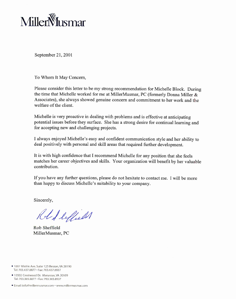 Letter Of Recommendation Resume Best Of Letter Of Re Mendation R Sheffield