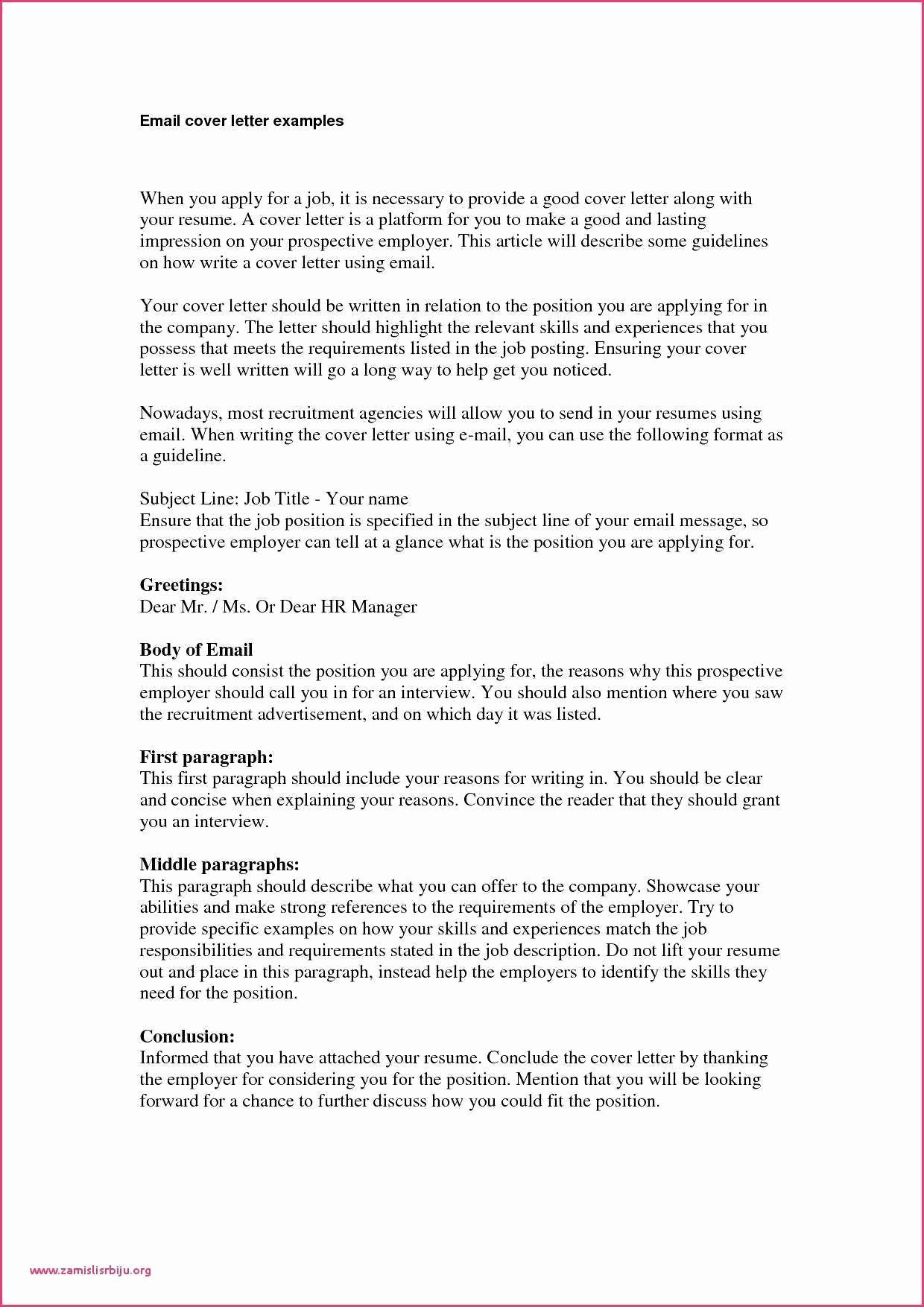 Letter Of Recommendation Subject Line Unique Business Letter format Reference Line Email Thank You