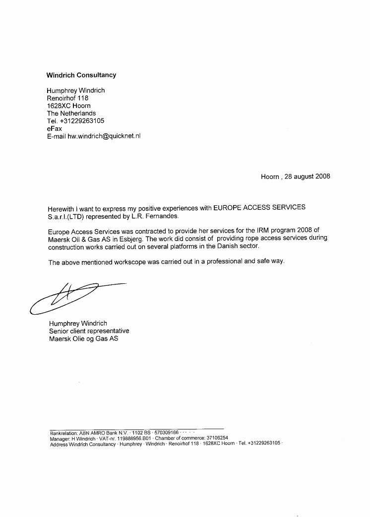 Letter Of Recommendation Vs Reference Inspirational Client Reference Letter