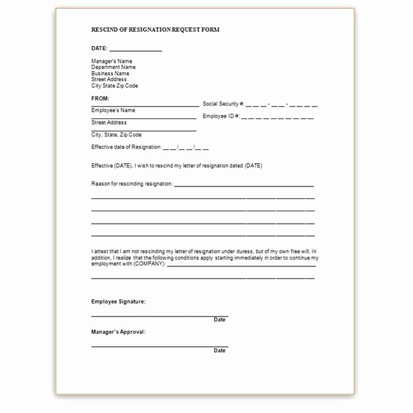 Letter Of Rescission Template Best Of What is A Notice Of Dismissal Of foreclosure