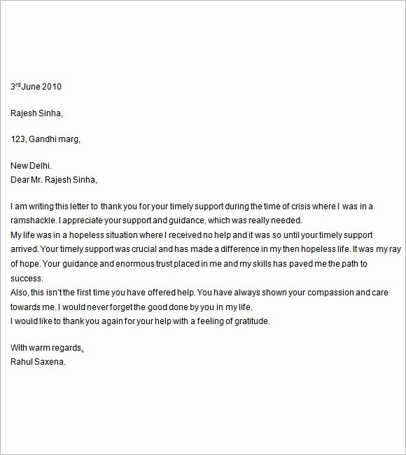 Letter Of Support format Luxury 12 Letter Of Support Templates – Free Samples Examples