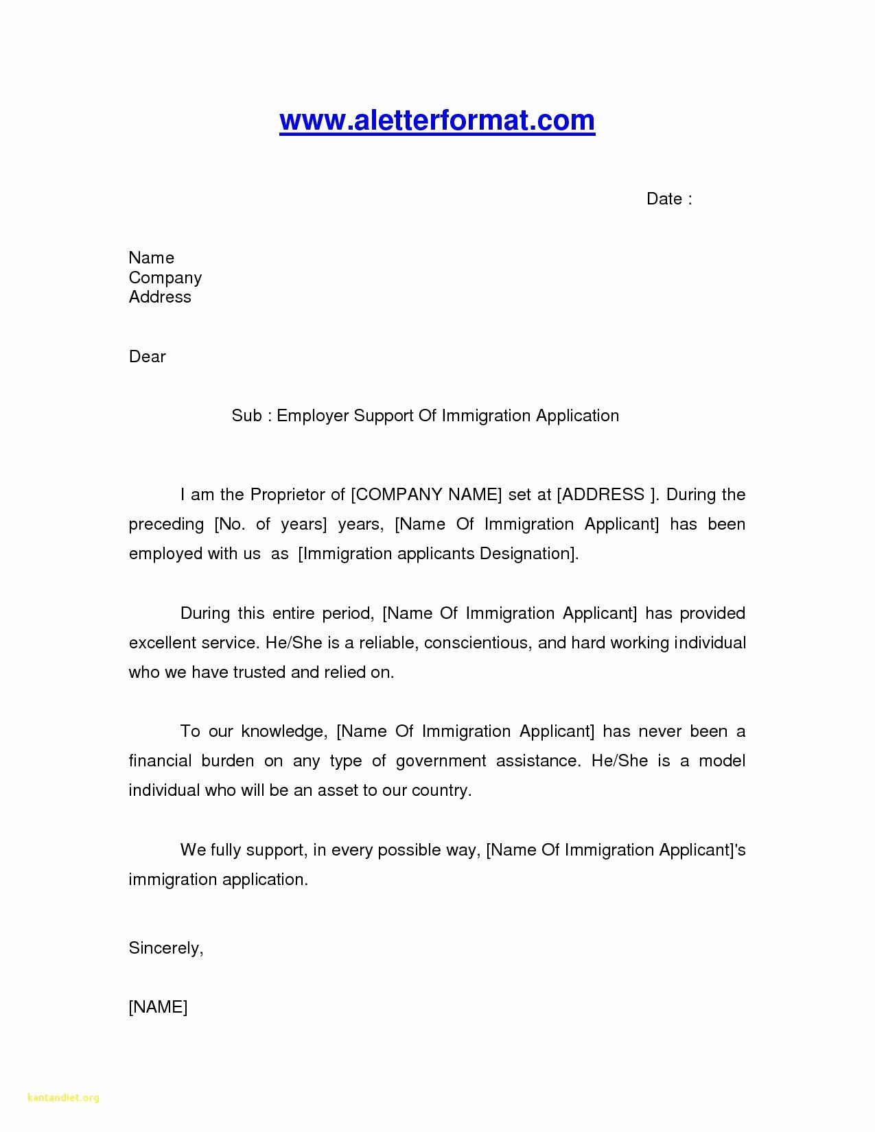 Letter Of Support format Unique Sample Support Letter for Immigration Friend