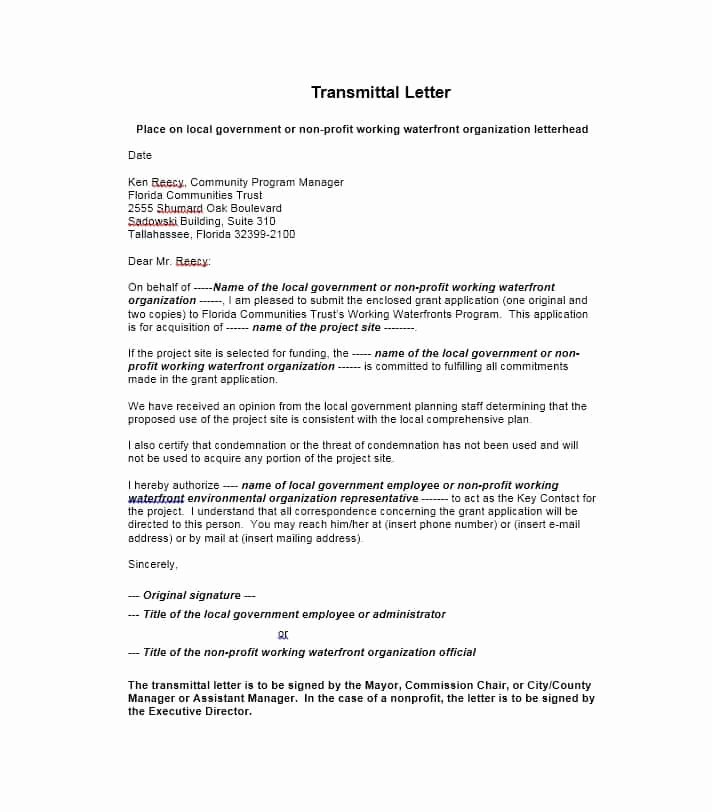 Letter Of Transmittal format Fresh Letter Of Transmittal 40 Great Examples & Templates