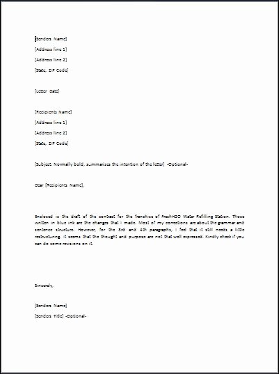 Letter Of Transmittal format Luxury Sample Transmittal Letter Template