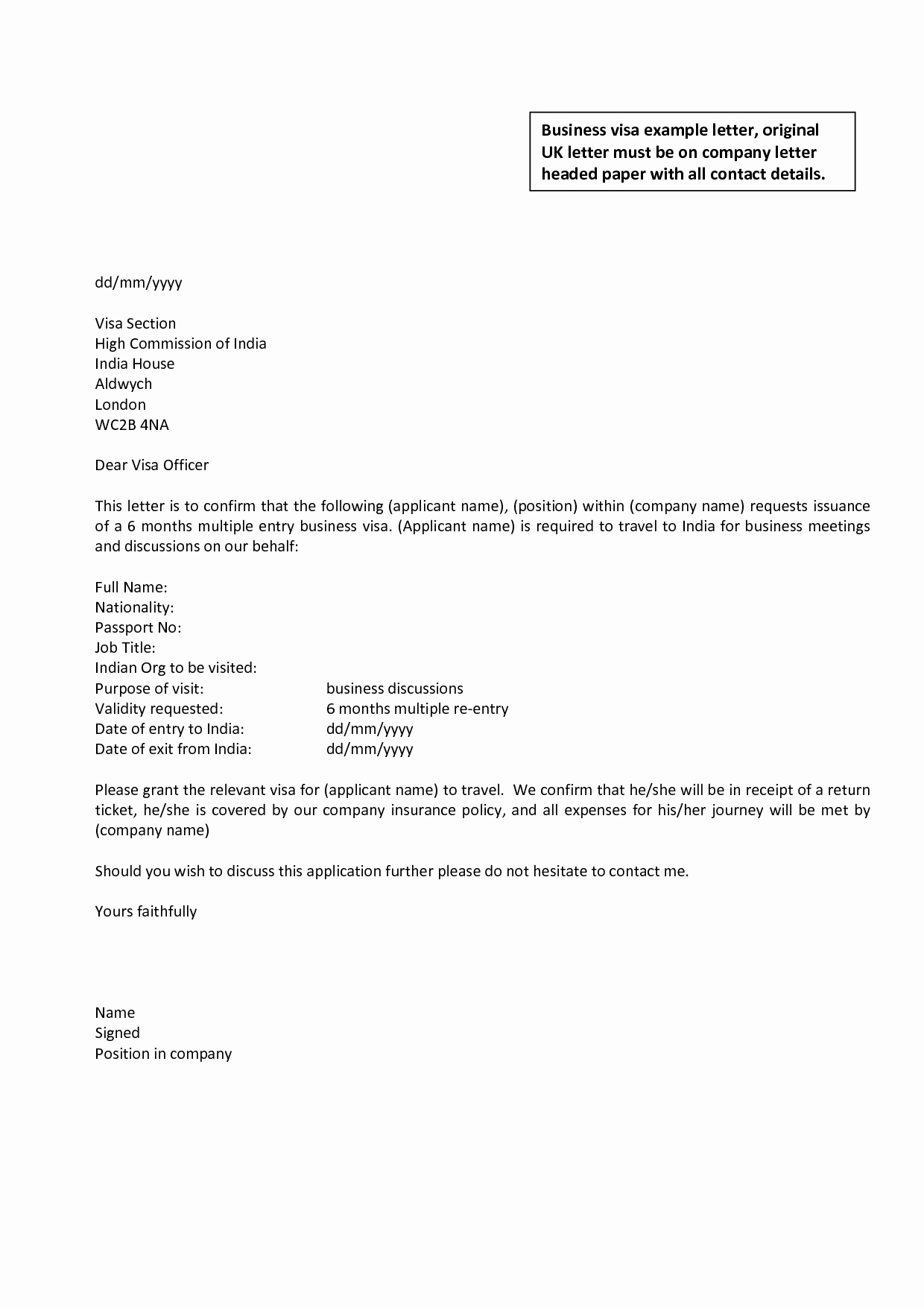 Letter Outline Template Awesome Business Letter Template Uk