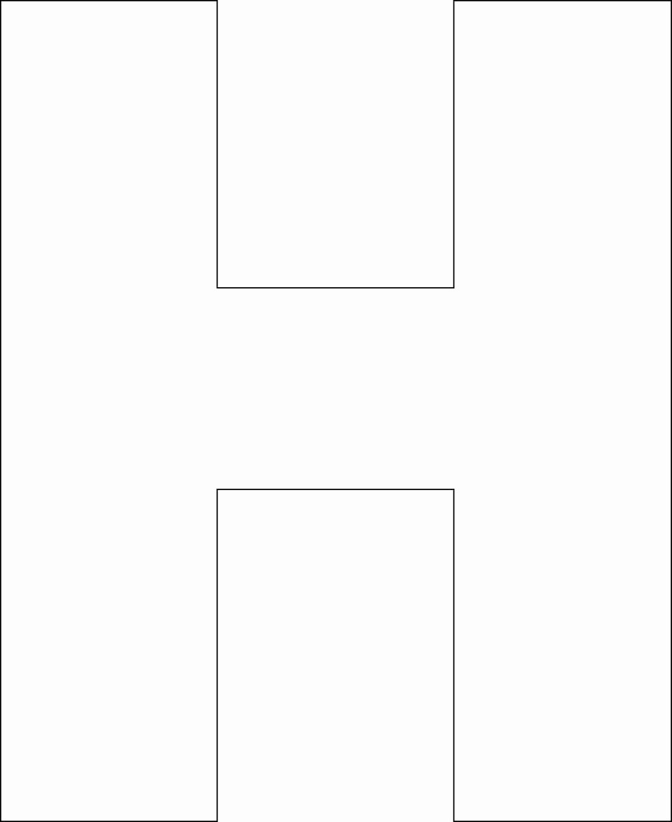 Letter Outline Template New Free Printable Alphabet Template Upper Case