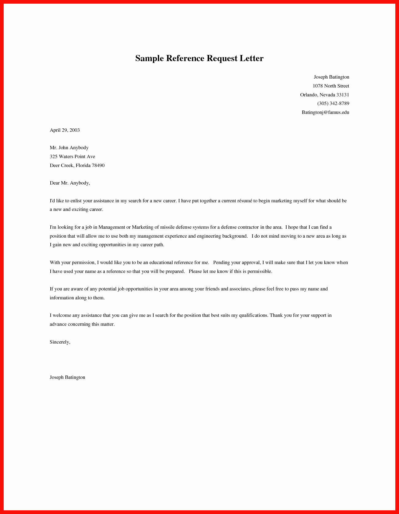 Letter Requesting Letter Of Recommendation Elegant ask Re Mendation Letter