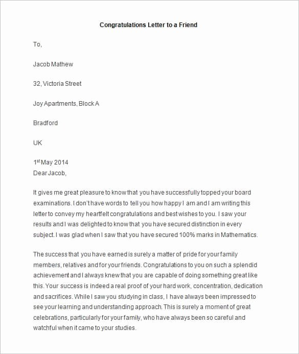 Letter to A Friend format Awesome 49 Friendly Letter Templates Pdf Doc