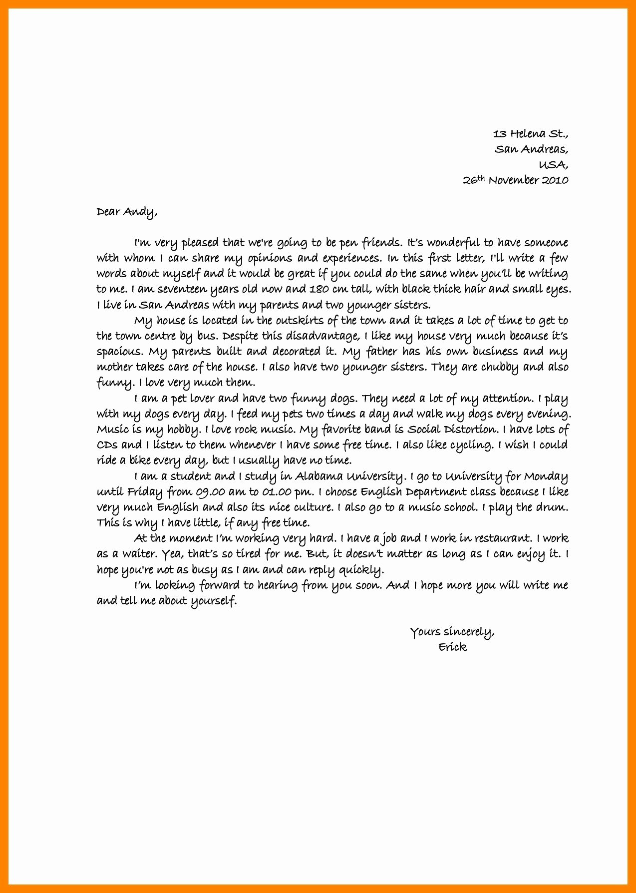 Letter to A Friend format Elegant Proper Letter format to A Friend Business Salutation Fresh