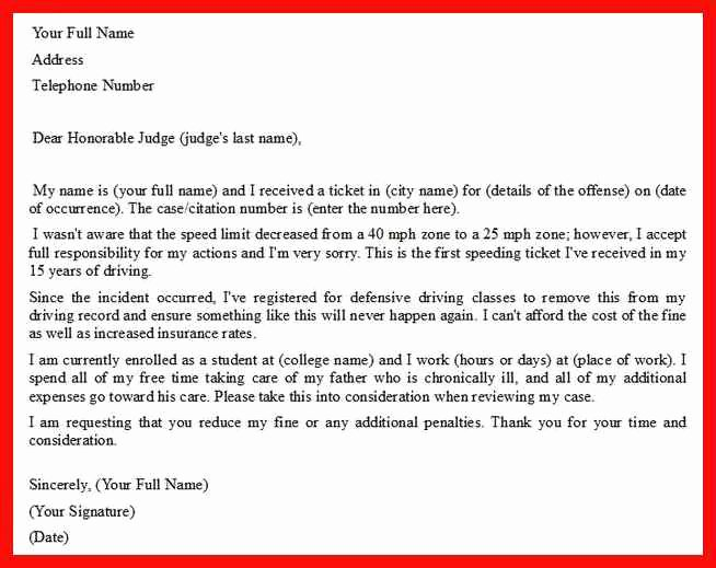 Letter to A Judge format Beautiful Letter format to A Judge