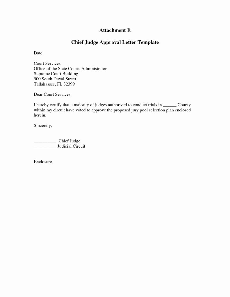 Letter to A Judge format Luxury Letter to Judge Template Lovely How Write A format formal