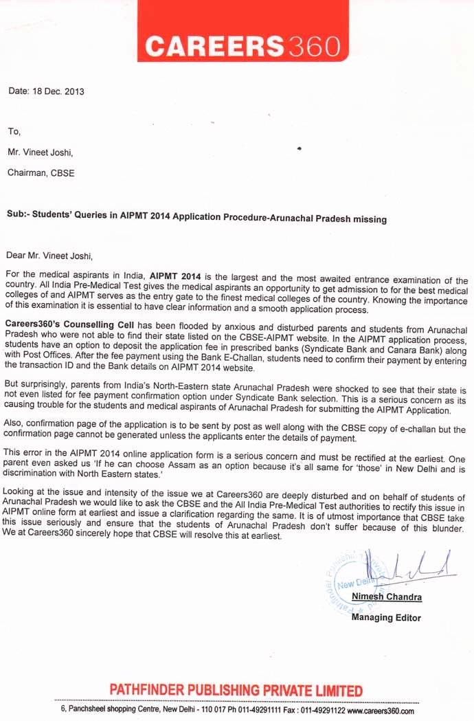 Letter to Editors format New format Letter to the Editor Cbse format Of Letter to