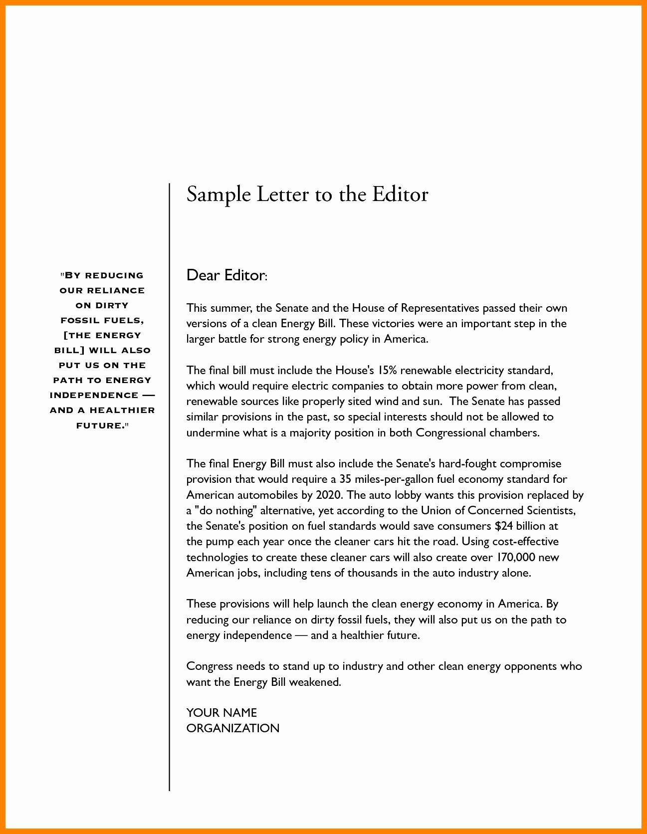 Letter to Editors format New Refrence Letter format for Newspaper Editor