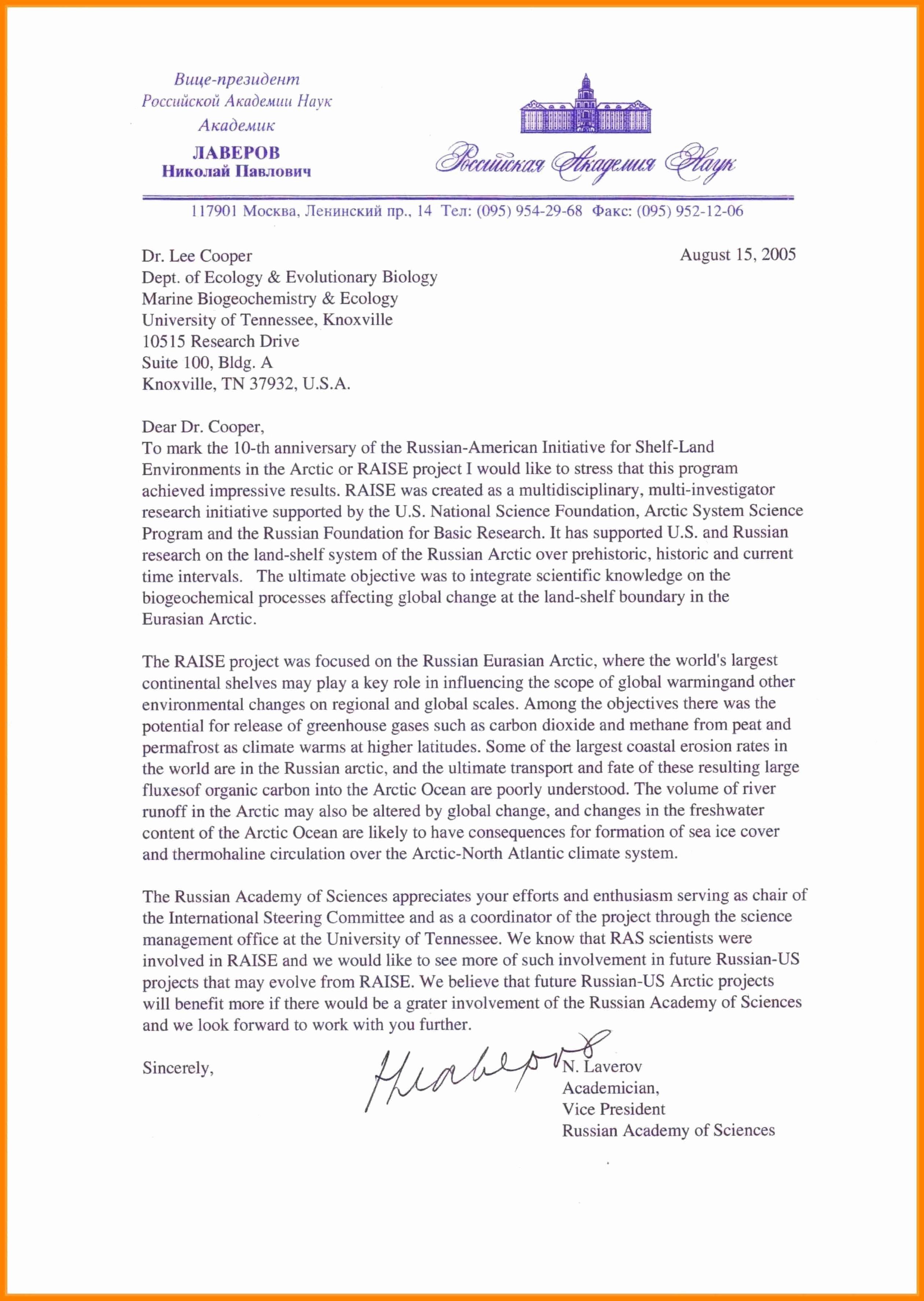 Letter to President format Fresh Letter to President format