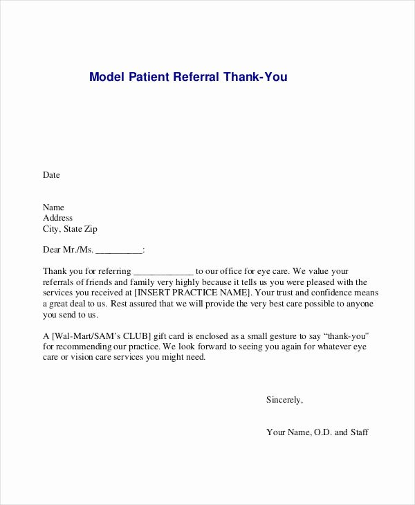 Letter to Referring Physician Awesome 14 Doctor Note Templates