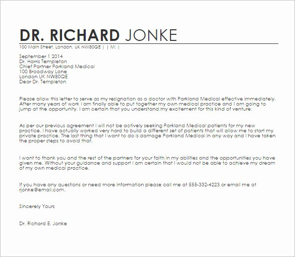Letter to Referring Physician Lovely 18 Doctor Letter Templates Pdf Doc