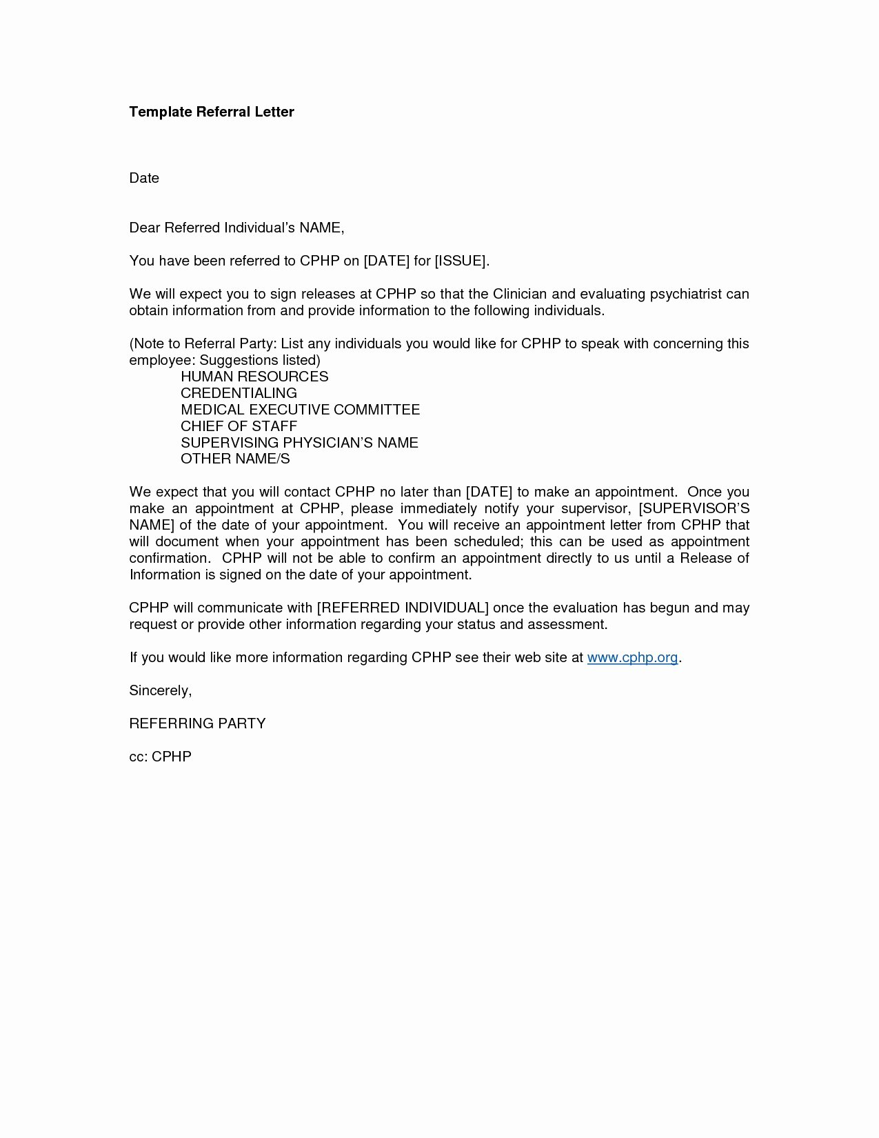 Letter to Referring Physician New Medical Referral Letter Template Australia Best Referral