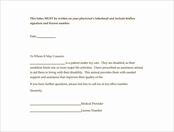 Letter to Referring Physician Template Awesome 18 Doctor Letter Templates Pdf Doc