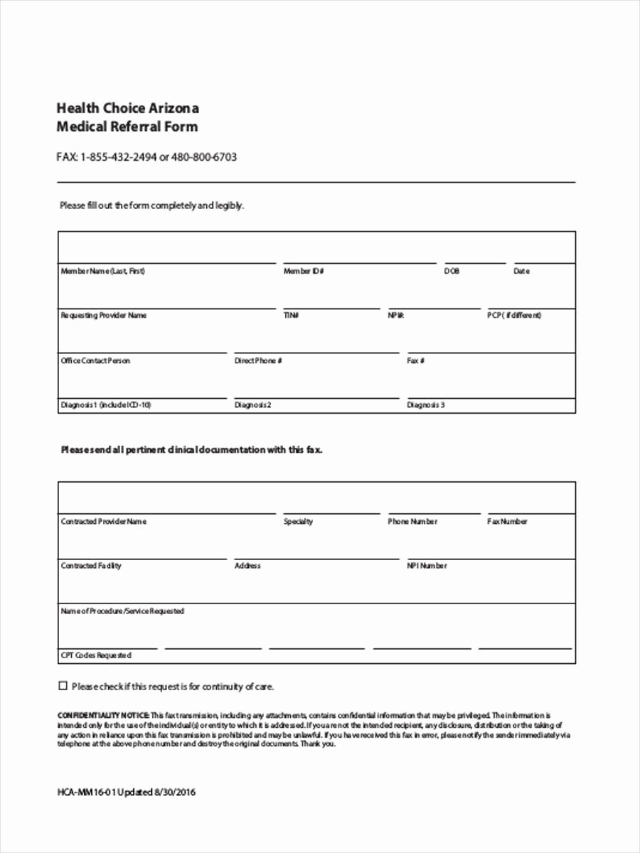Letter to Referring Physician Template Fresh Medical Referral form Template Maggilocustdesign