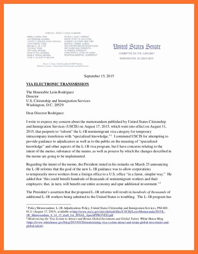 Letter to Uscis format Best Of 14 15 Letter to Uscis format