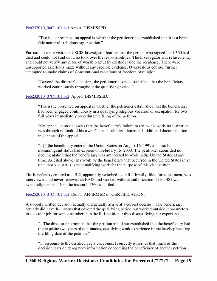 Letter to Uscis format Lovely 29 Of Template Appellate Brief Uscis