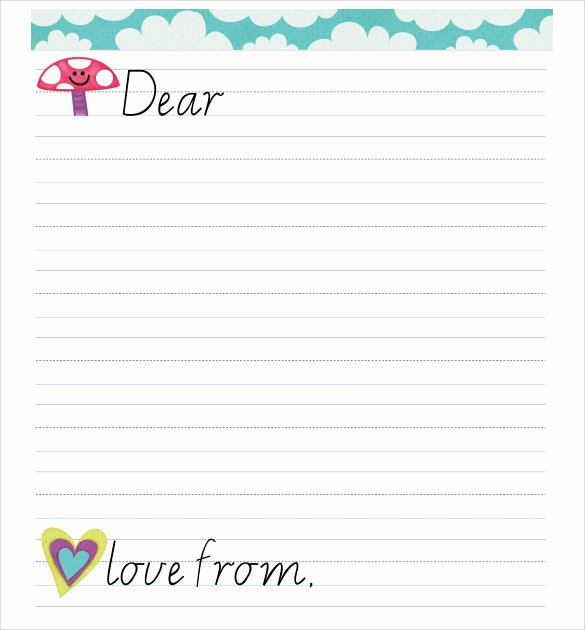Letter Writing format for Students Fresh 8 Letter format for Kids Samples Examples & format