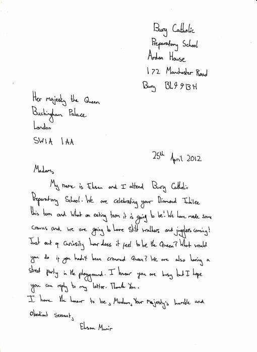 Letter Writing format for Students Lovely formal Letter for School