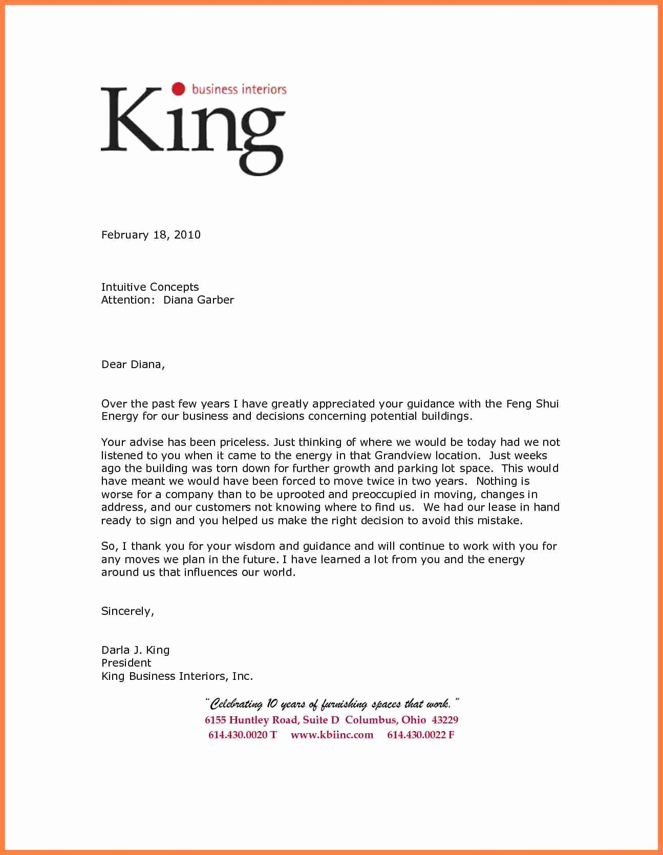 Letterhead for Letter Of Recommendation Awesome 7 Re Mendation Letter for A Pany Sample