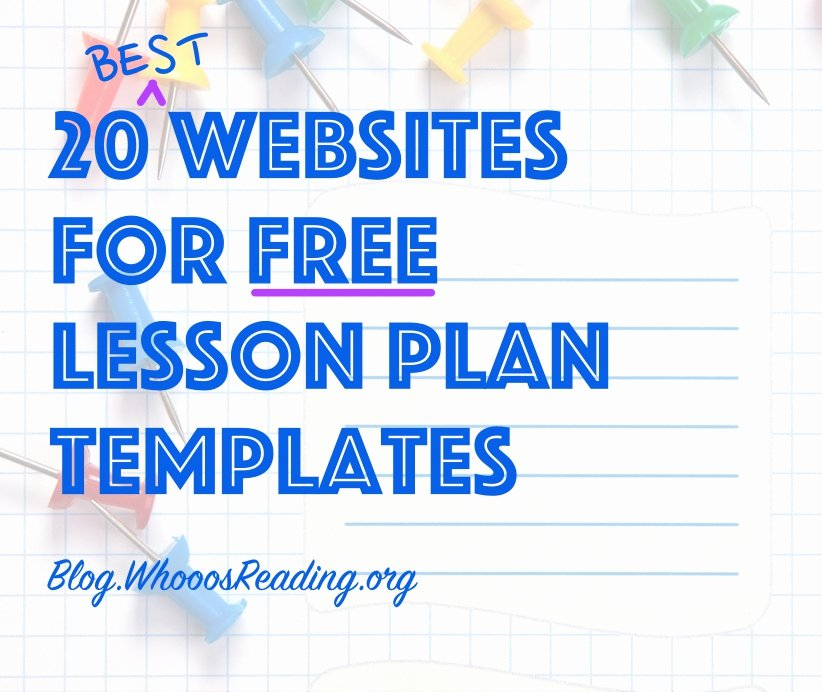 Librarian Lesson Plan Template Beautiful 20 Best Websites for Free Lesson Plan Templates