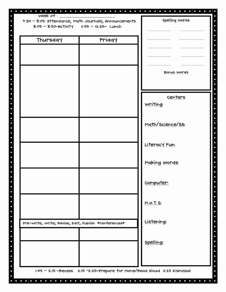 Library Lesson Plan Template Elegant 1000 Images About Lesson Plan Templates On Pinterest