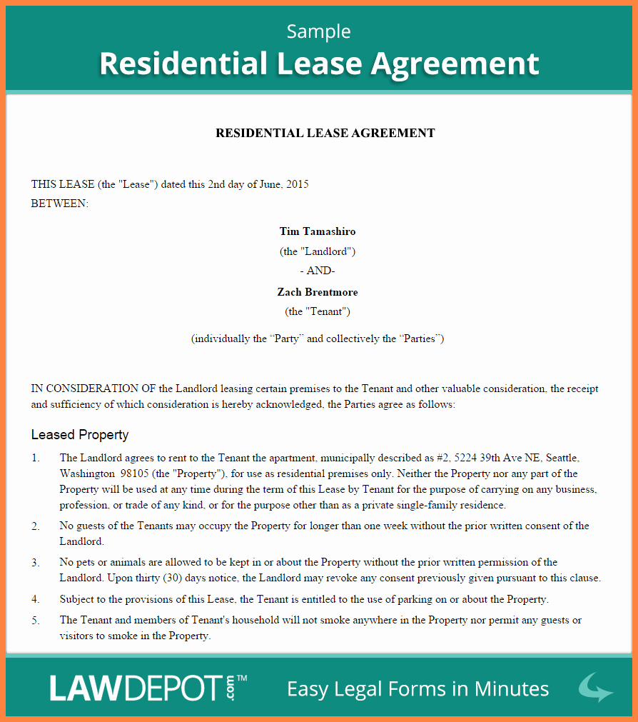Living Agreement Contract Awesome 7 Rental Agreement Between Family Members