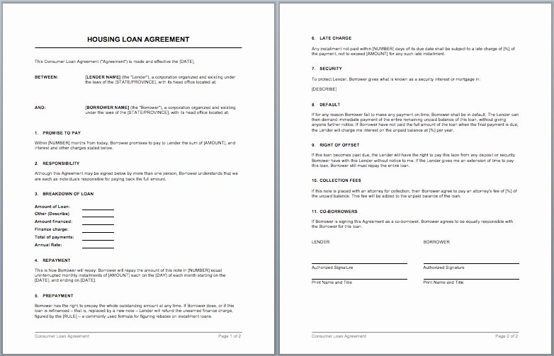 Living Agreement Contract Fresh 50 Useful Employee Housing Agreement Template Ja W