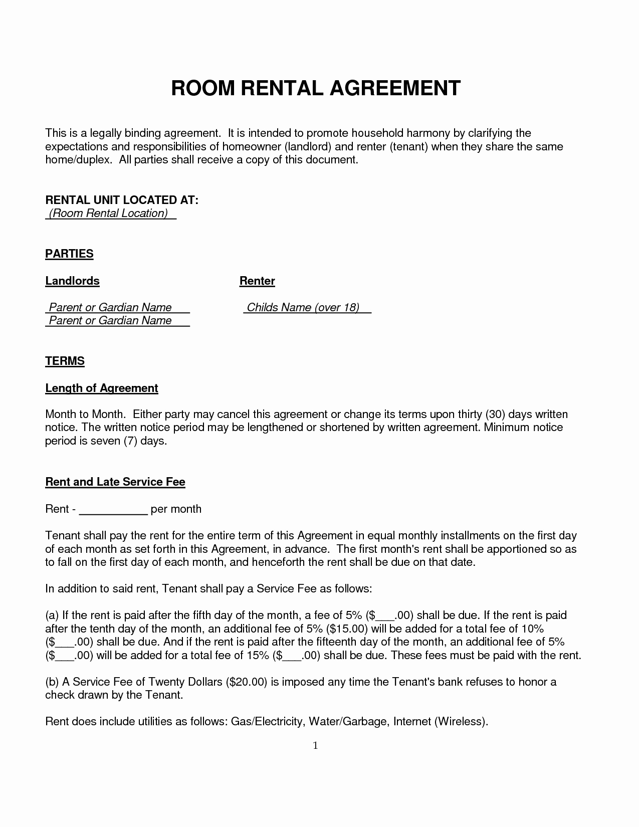 Living Agreement Template Awesome Tenancy Agreement Template Uk Gfkemltm 1275×1650