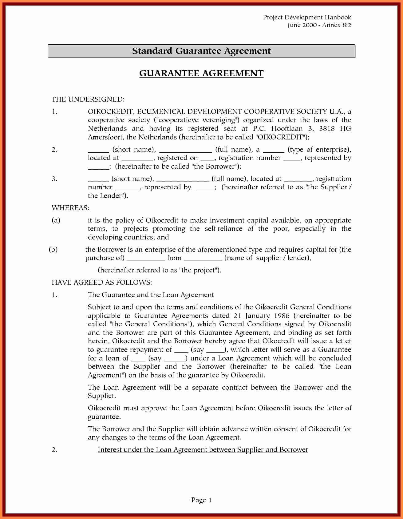 Llc Member Loan Agreement Inspirational 4 Sample Loan Agreement Between Family Members