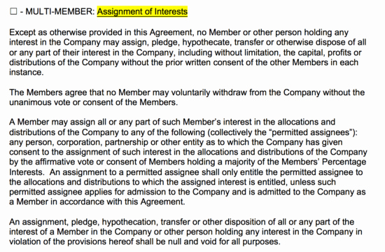 Llc Transfer Of Ownership Agreement Sample Best Of Free Llc Operating Agreement Templates Pdf