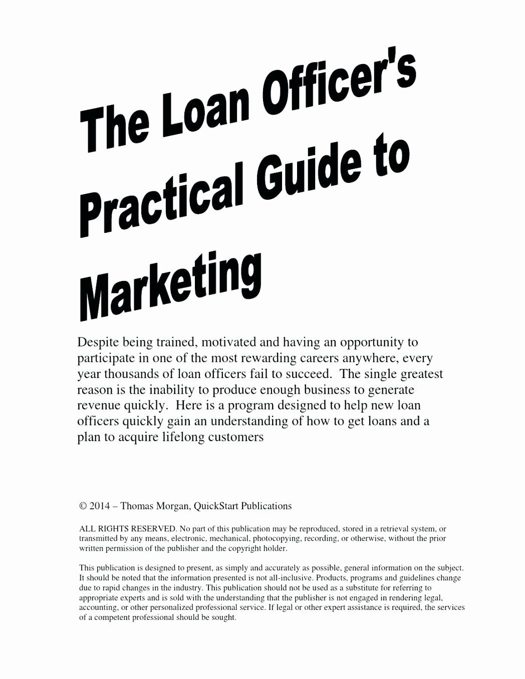 Loan Officer Marketing Plan Template Fresh Loan Ficer Business Plan Example Mortgage Loan Ficer