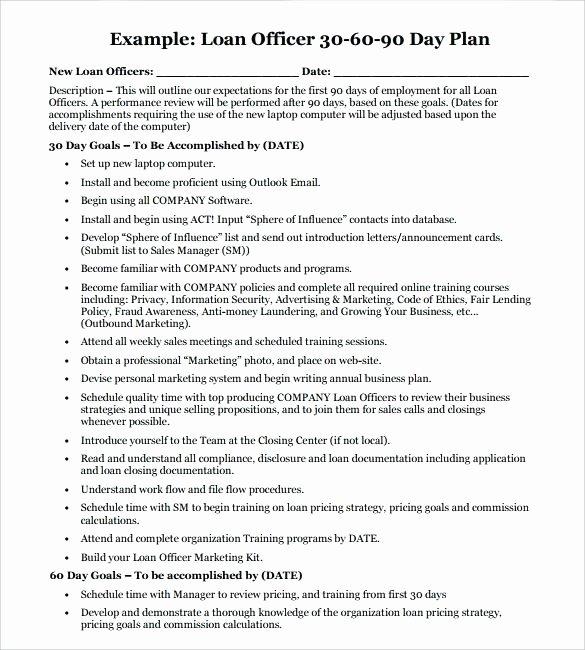 Loan Officer Marketing Plan Template Luxury Loan Officer Marketing Plan Template