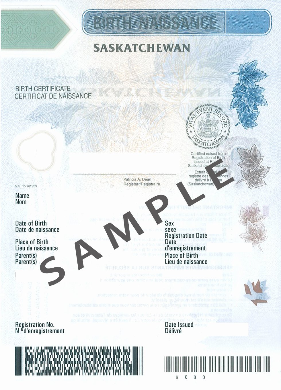 Long form Birth Certificate Sample Fresh order A Birth Certificate