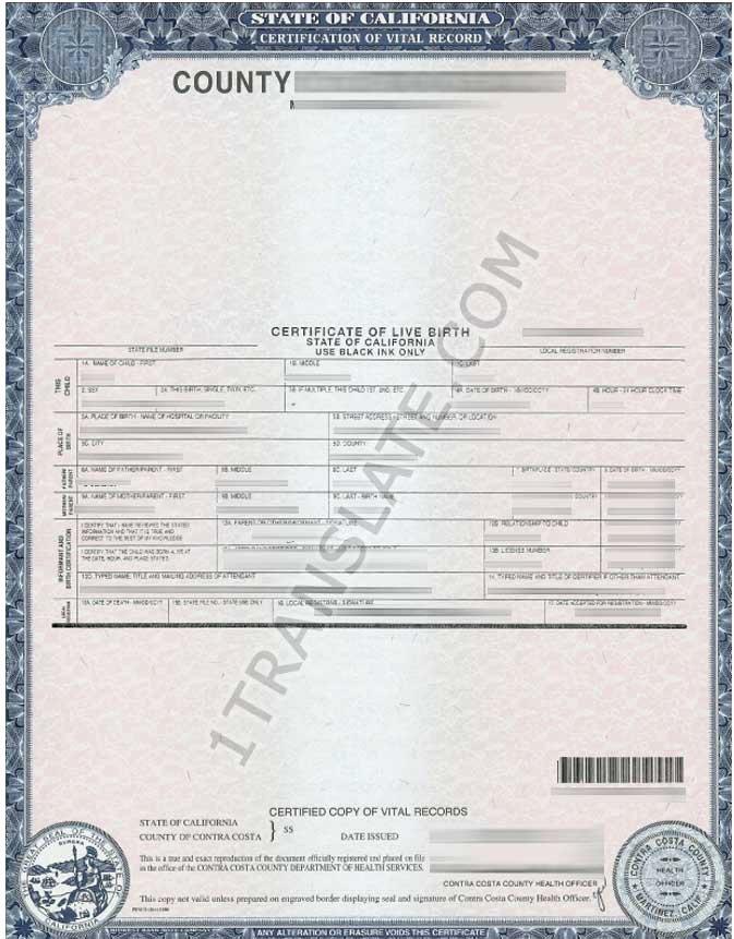 Long form Birth Certificate Sample Fresh Ukrainian Russian Us Birth Certificate Translation