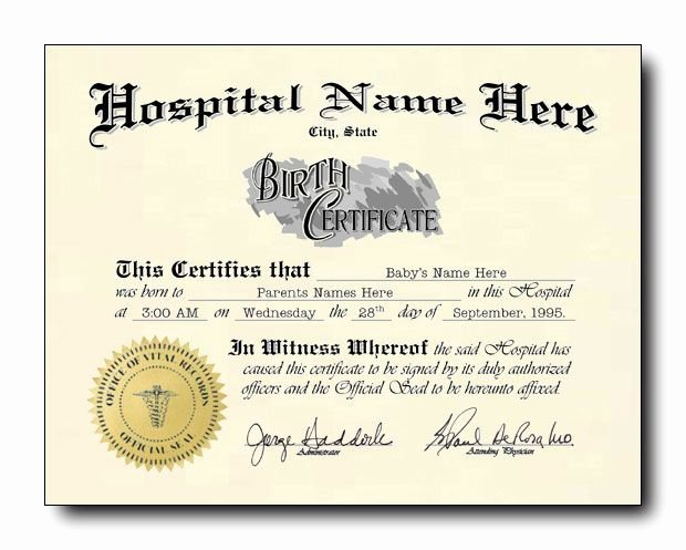 """Long form Birth Certificate Sample Inspirational Celebrate Your Spiritual New Birth with A """"new Birth"""