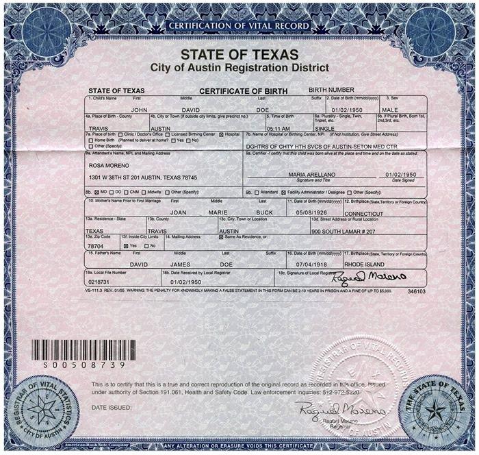 Long form Birth Certificate Sample Inspirational Pin by Elizabeth Ketcherside Hansen On Passports