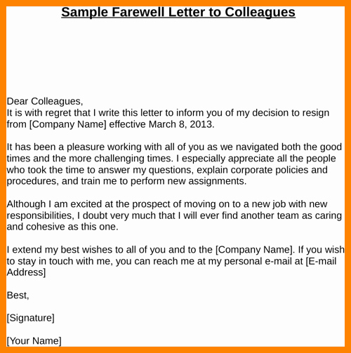 Long Term Missionary Support Letter Template Beautiful 9 Introduction Letter to Colleagues