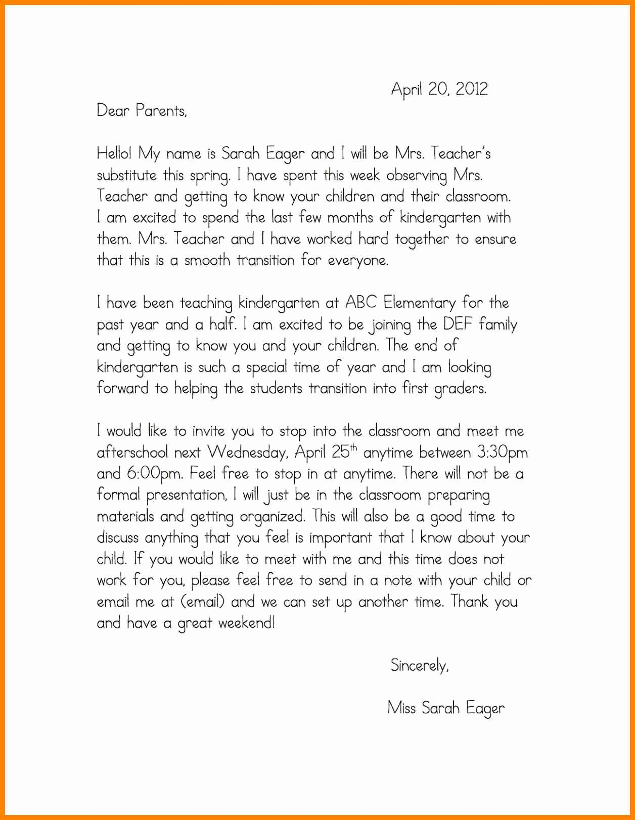 Long Term Missionary Support Letter Template Fresh Template Self Introduction Speech Examples Self