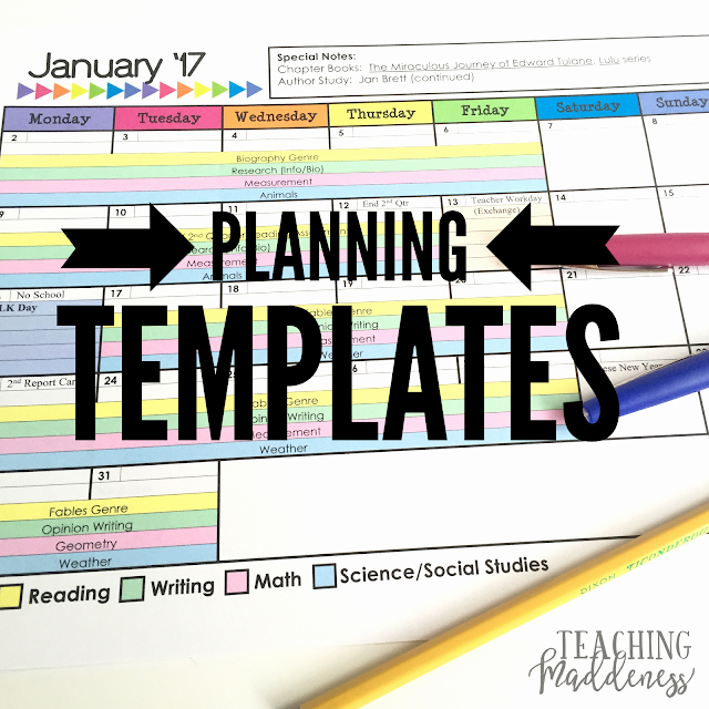 Long Term Plan Template New 2016 Long Range Plans Template Teaching Maddeness