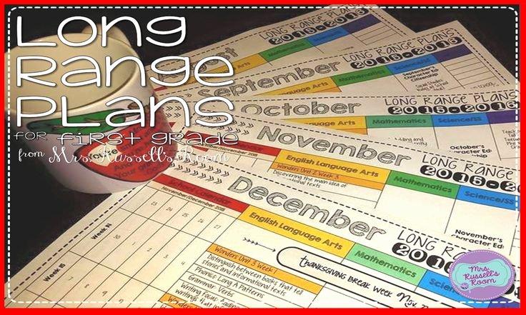 Long Term Plan Template Unique 21 Best Long Range Plan Templates Images On Pinterest