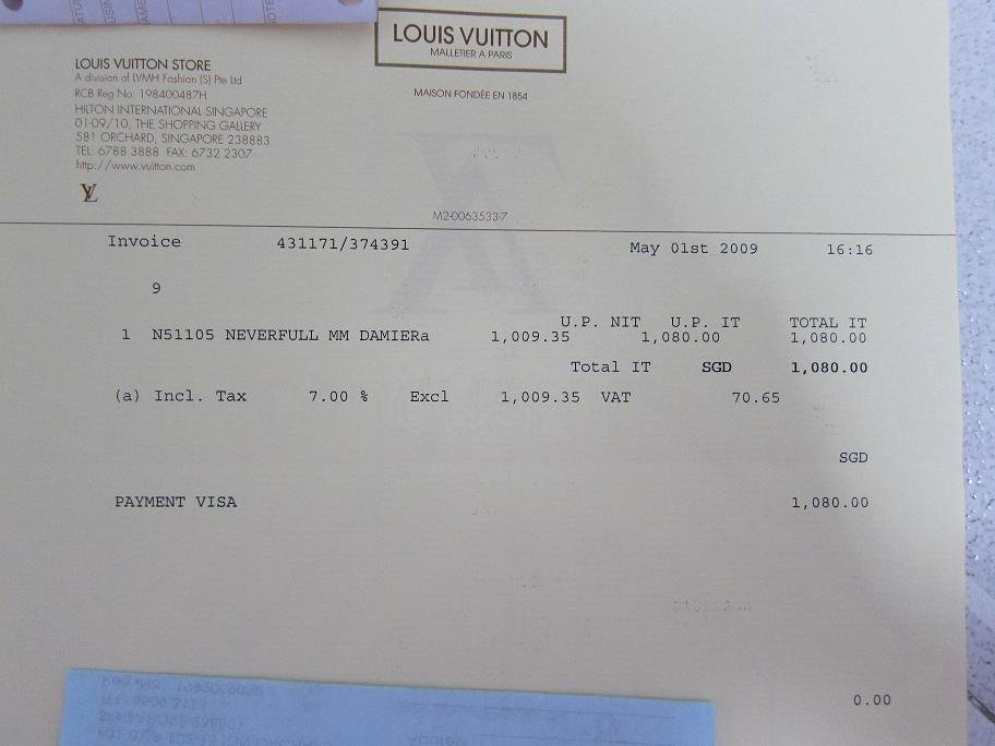 Louis Vuitton Receipt Template Fresh Louis Vuitton Receipt Cheap Watches Mgc Gas