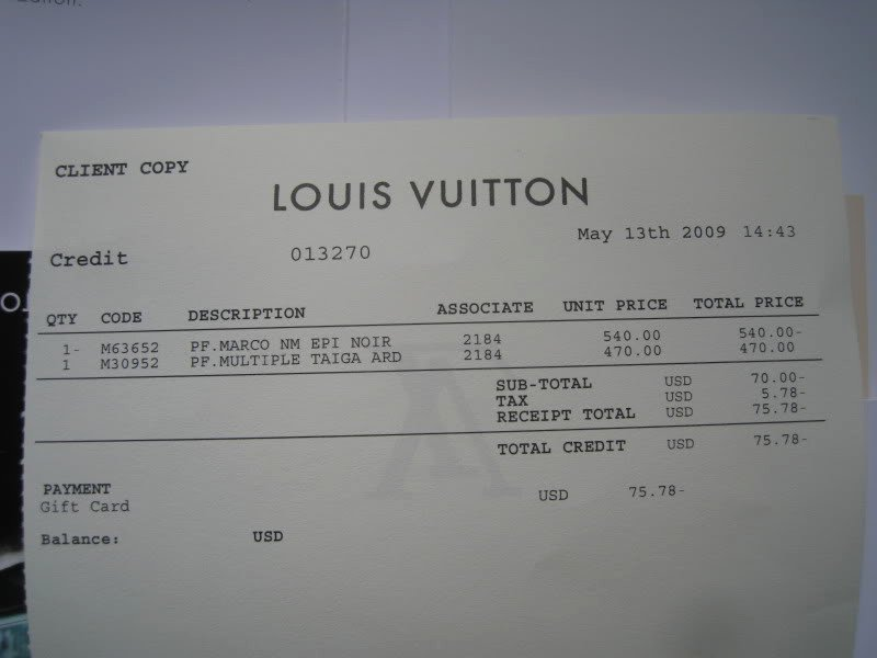 Louis Vuitton Receipt Template Lovely Louis Vuitton Receipt Cheap Watches Mgc Gas