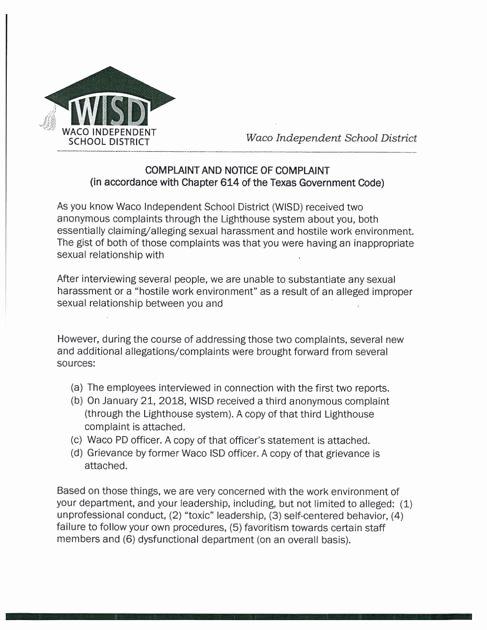 Lox Letter Example Unique Ken Boatman S Resignation Letter and Summary Of Plaints
