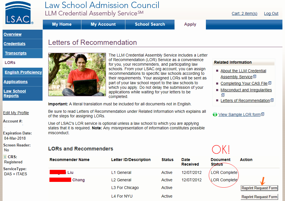 Lsac Letter Of Recommendation Awesome Lor